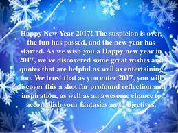Happy New Year 40 Quotes Wishes Images And Greetings Fascinating Happy New Year 2017 Quotes