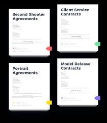 Photography Contracts Photography Contracts And Agreement Templates Honeybook