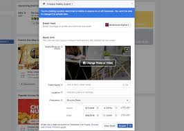 how to add details to a facebook event