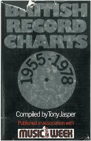 Book Tony Jasper British Record Charts 1955 1978