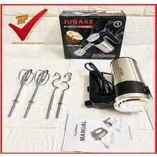 HOT] Máy đánh trứng nhào bột cầm tay siêu khỏe JUBAKE JU 882 350WBảo hành  12 tháng giá rẻ nhất