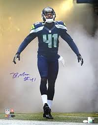 BYRON MAXWELL AUTOGRAPHED 16X20 PHOTO SEATTLE SEAHAWKS MCS HOLO STOCK  #76408 at Amazon's Sports Collectibles Store