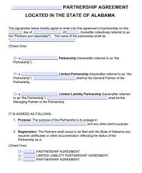 Limited Partnership Agreement Template Free Partnership Agreement Forms 189697550966 373319550966 Free