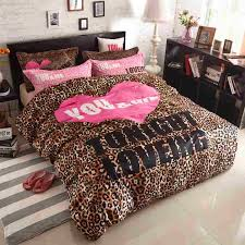 Bedding Amazing Leopard Print Bedding Fashion Leopard Print
