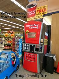 Seattle's Best Vending Machine Inspiration I Had A Coffee It Forward Day Save Mart W Hellorubi Coffee