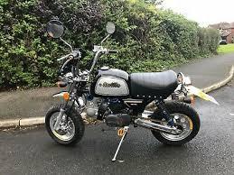 gorilla monkey bike 110cc loaded with