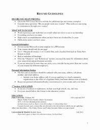 Personal Banker Resume Templates Sample Of Personal Information In Resume Inspirational Sample 64