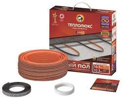 Греющий <b>кабель Теплолюкс ProfiRoll</b> 9,5м 180Вт — купить по ...