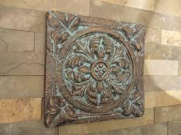 Bronze Wall Decor Outside Wall Decor Metal Patio Wall Decor For Verandah Room