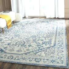 blue medallion rug s jackson e area threshold pottery barn bird