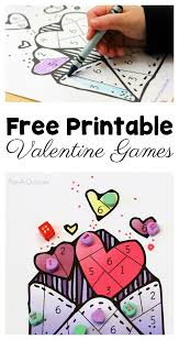Free Printable Valentine Games For Preschoolers To Play