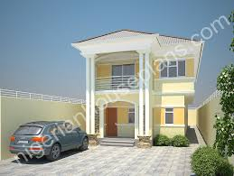 Duplex Designs On Half Plot Of Land 4 Bedroom Duplex On Half Plot Ref 4021 Nigerianhouseplans