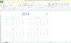 Excel Calendar Template 2013 Excel Calendar Template 2013 Tailoredswift Co