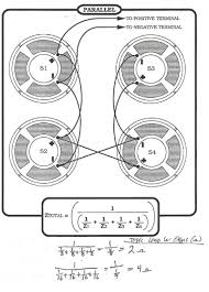 speaker cab wiring 2x12 4x12 diagrams series parallel