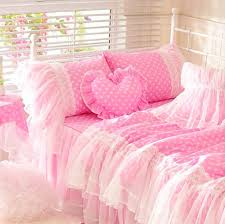 cool bed sheets for teenagers. Cute Pink Polka Dot Bedding Set Teen Girl,cotton Twin Full Queen King Single Double Home Textile Bedskirt Pillowcase Quilt Cover-in Sets From Cool Bed Sheets For Teenagers