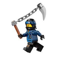 Amazon.com: LEGO The Ninjago Movie Minifigure - Jay (in Ninjao Suit w/  Spiked Chain) 70618: Toys & Games