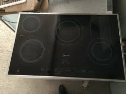 neff 5 ring electric hob touch control collection delivery no offers stainless steel