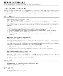 Sample Of Qualifications In Resumes Summary Of Qualifications Resume Sample Summary Of Qualifications