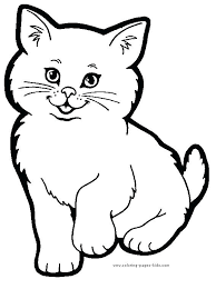 free printable animal coloring pages colourg free blank animal coloring pages