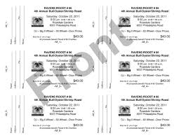 specprint reprographics raffle ticket example 3 click to this example in microsoft word doc format