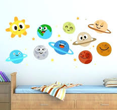 fun wall decals and kids fun planets wall decals fun playroom wall decals gbe