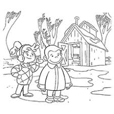 15 Best Curious George Coloring Pages For Your Little Ones