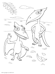 Small Picture Dinosaur Train Coloring Pages nywestierescuecom