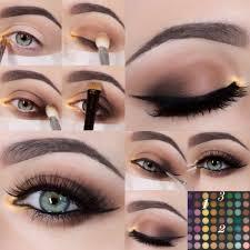 diy eye makeup tutorial pictures