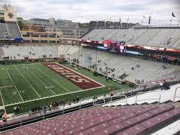 Alumni Stadium Section Ss Rateyourseats Com