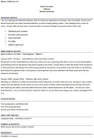 ... Waiter Resume Samples within ucwords] ...