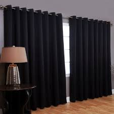 advanced black curtains blackout curtains ikea with long steel rod also laminate flooring and black