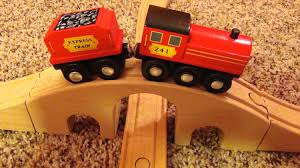 melissa doug wooden figure eight train set toy review works with thomas and brio you