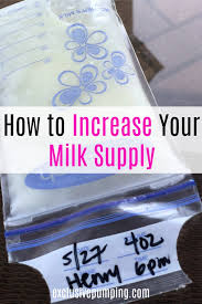 Not Enough Milk How To Increase Milk Supply When Youre Pumping