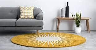 round yellow rug yellow rug ikea uk