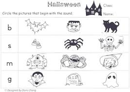 Worksheet for (very) young learners who have just started reading. Halloween Phonics Worksheets Teachers Pay Teachers