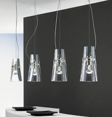contemporary glass lighting. Leucos Kon Suspension Pendants Contemporary Clear Glass From The Lights Lighting