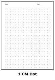 1 Cm Dot Graph Paper Math Graph Paper Paper Bullet Journal