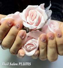 ピンクベージュキラキラネイル 京都宇治のネイルサロン nail