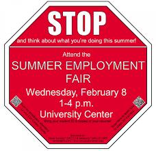 summer employment fair nmu career services summer employment fair