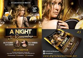nightclub flyers a night to remember nightclub flyer template by dennybusyet on