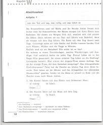 Итоговая контрольная работа по немецкому языку чтение немецкий  Прочитай текст Определи какие из предложений соответствуют содержанию текста а а какие нет b