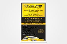 Auto Repair Flyer Isams Auto Repair Flyer Stacey Zens