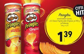 Pringles 200g Angebot bei CITTI Markt