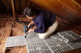 Install flooring in your attic so that you can utilize the space in your  attic for