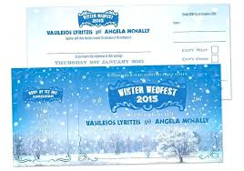 Amazing Snowflake Themed Wedding Invitations Or Winter Wedding