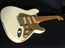 just rolled dice on a jimmie vaughan strat yes ditch the lame thin pickguard i got aluminum put in your fave pups i dropped lace sensor holy grails or keep it stock and ya got a great strat