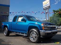 2011 Chevrolet Colorado LT Extended Cab 4x4 in Aqua Blue Metallic ...