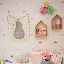 cloud wall stickers for kids room baby