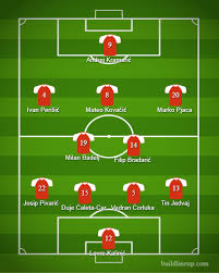 Soccer Lineups Croatias Expected Starting Lineup Against Iceland Sources