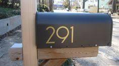 modern mailbox numbers. Modren Numbers Modern House Numbers  Brass Mailbox SoCal Typeface Modern Mailbox  The And Mailbox Numbers